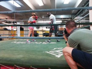 Christophe Mendy - boxe - new york - normandie - mendez boxing gym - normands voyageurs