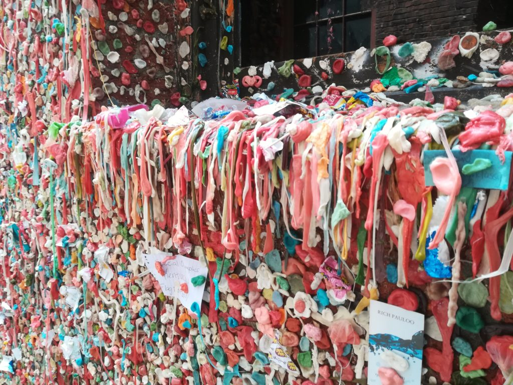 visiter Seattle - gum wall seattle