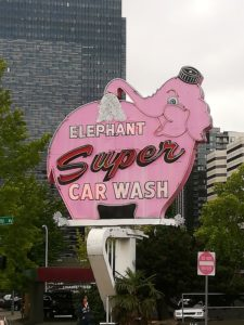 visiter Seattle - car wash