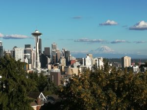 visiter Seattle - kerry park