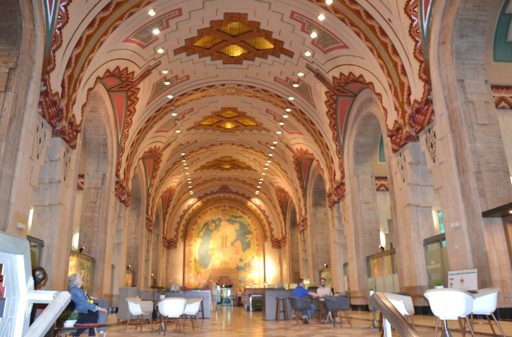 urbex à détroit - guardian building interieur