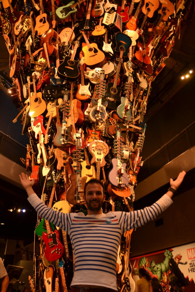 visiter Seattle - Mopop2 Museum of pop culture guitars