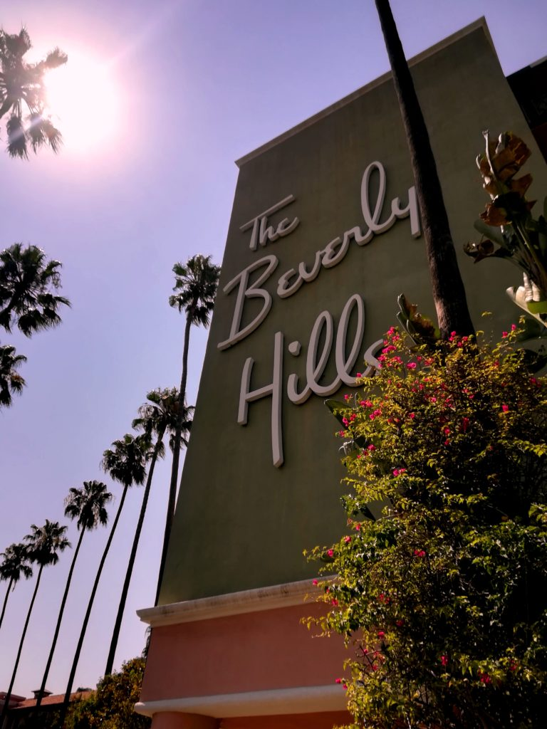 8 choses à faire à Los Angeles beverly hills hotel califonie normands voyageurs palmiers