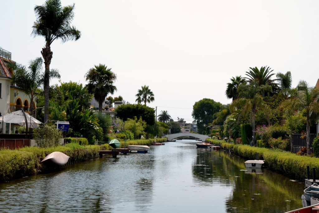 8 choses à faire à Los Angeles Venice canaux californie normands voyageurs palmiers