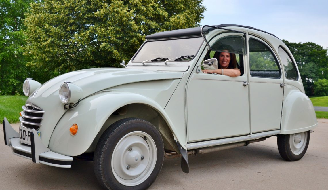 Artisanat normands -Traci Parent 2 CV