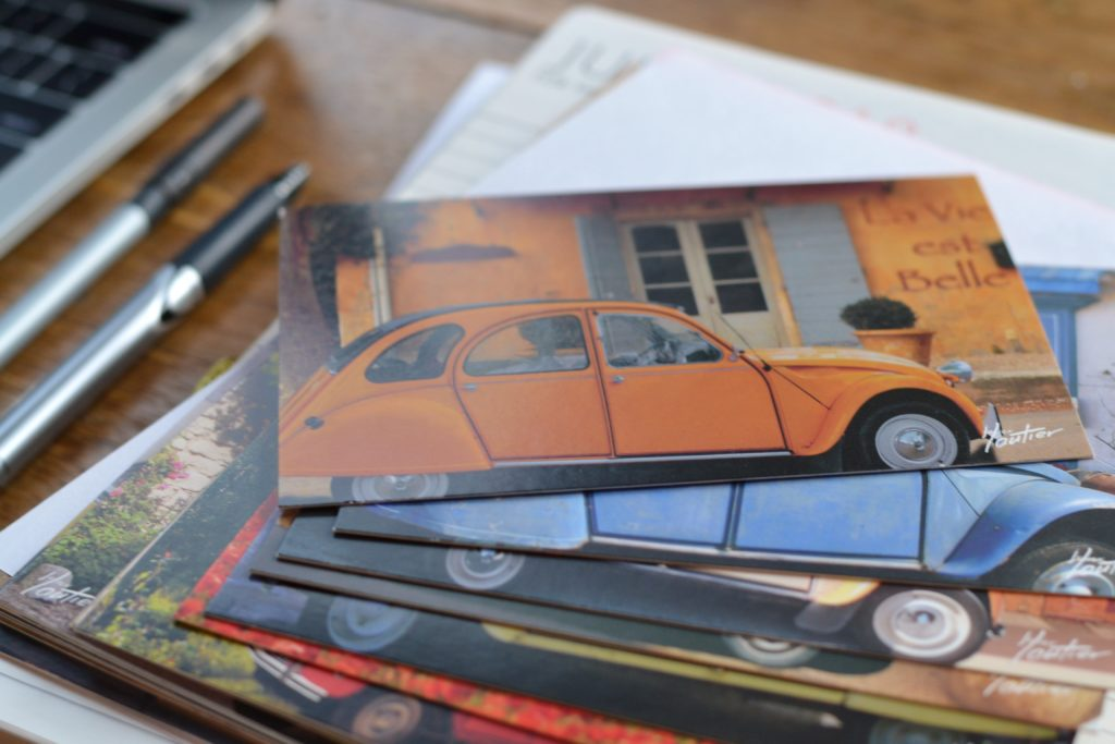 Artisanat normands - cartes postales