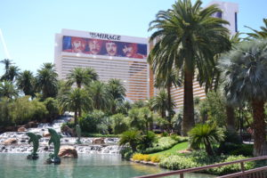 Very good trip à Las Vegas - strip hotel the mirage palmier fontaine