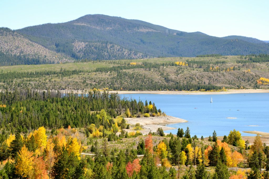 Rocky Mountain National Park - lac paysage colorado