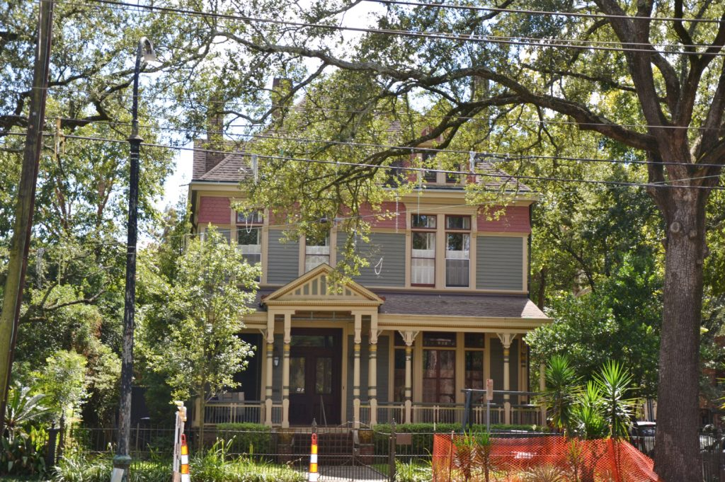 garden district - la nouvelle-orleans rue saint charles architecture louisiane