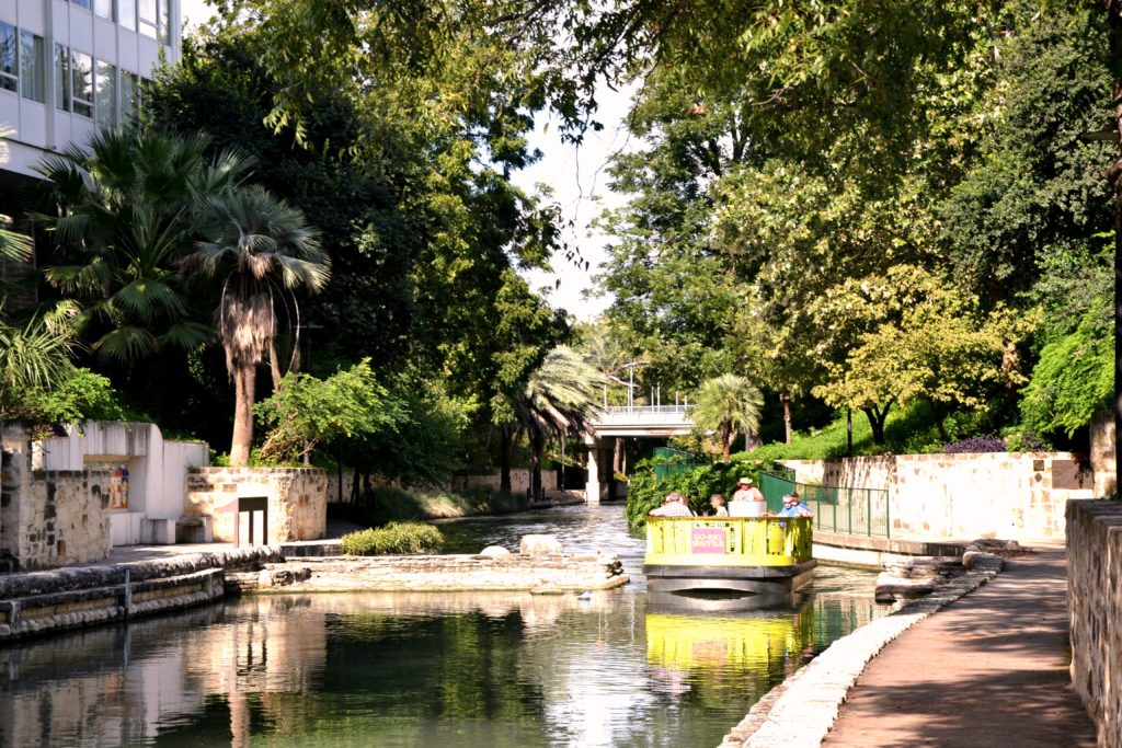 Visiter San Antonio - San Anotnio river texas usa normands voyageurs Riverwalk