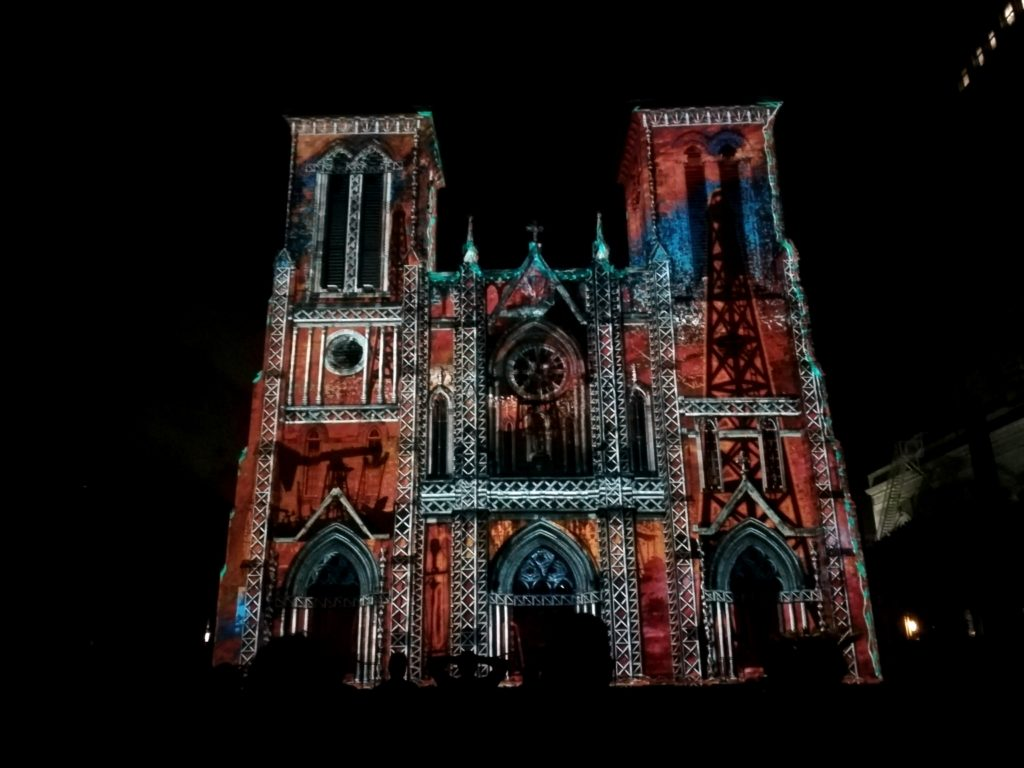 Visiter San Antonio - San Anotnio river texas usa normands voyageurs cathédrale san fernando illumination the saga